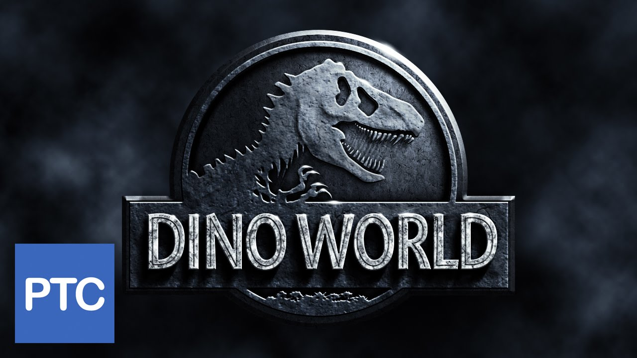Jurassic World Movie Poster - Photoshop Tutorial - YouTube
