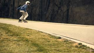 DB Longboards: Michael Virgin shreds the Lunch Tray