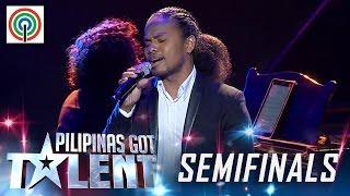 Pilipinas Got Talent Season 5 Live Semifinals: Derf Cabael - Singer