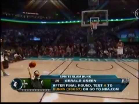 Gerald Green - 2008 NBA Slam Dunk Contest
