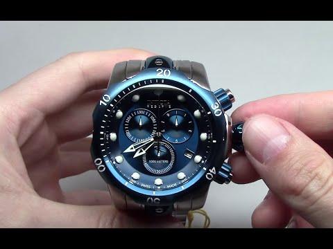 Invicta Venom Chronograph Blue Men's Watch Review Ref: 80566