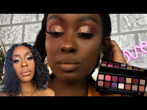ChitChat Life update! I'm single again | using the Jackie Aina palette thumbnail