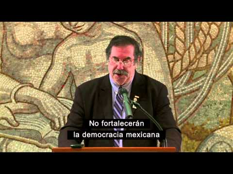 Presentación del premio Meany-Kirkland a Napoleón Gómez Urrutia