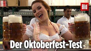 Kellnern beim Oktoberfest ist ein knallharter Job! Jessi hat den Test gemacht