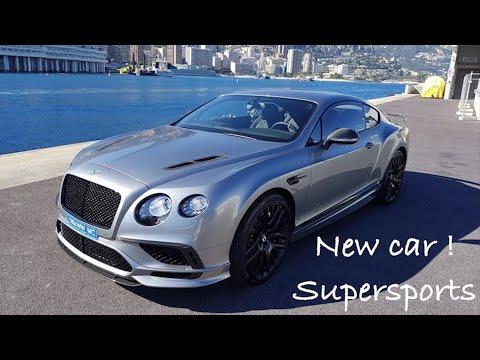 J'ai reçu une nouvelle voiture ! Continental GT Supersports !
