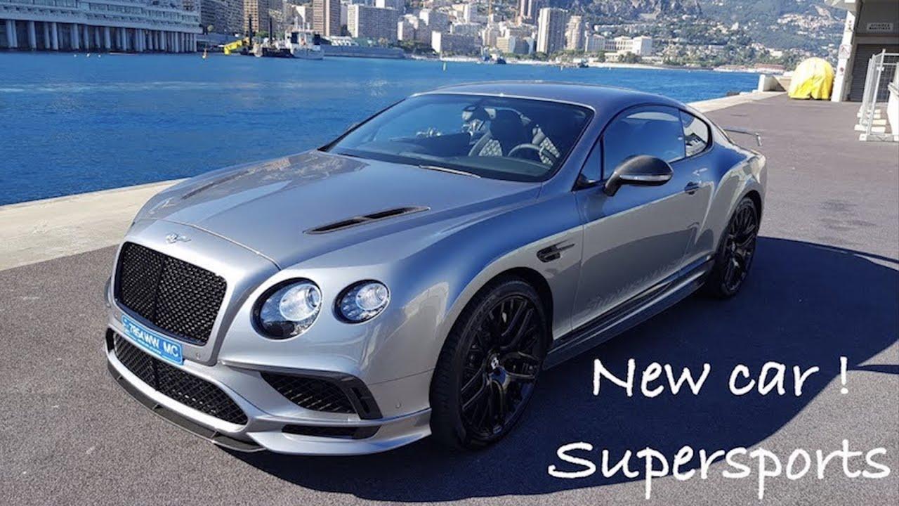 j 39 ai re u une nouvelle voiture continental gt supersports youtube. Black Bedroom Furniture Sets. Home Design Ideas
