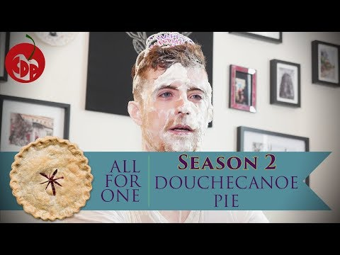 Douchecanoe Pie, or Dan Takes 17 Pies To The Face