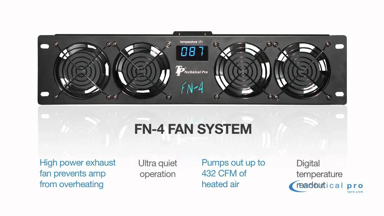 Technical Pro Rackmount Fan