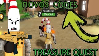 6 CODES AND TIPS GOOD GAME TOP TREASURE QUEST! ROBLOX