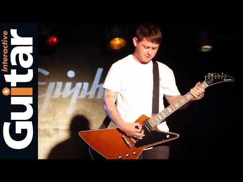GiTV | Bring Me The Horizon's Lee Malia chats about his signature Epiphone Explorer Custom
