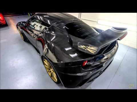Xpel install on a Lotus Evora GTE F1