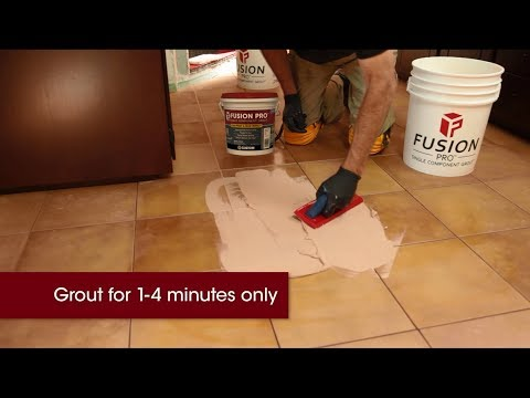 Best Way to Install Fusion Pro® Single Component® Grout