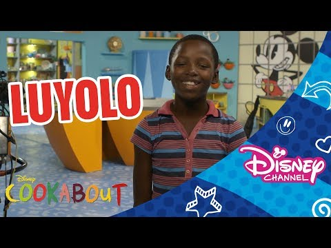 Cookabout | Cooktestant Profile | Luyolo | Official Disney Channel Africa