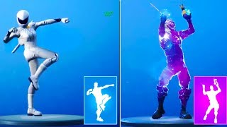 *NEW* Fortnite LEAKED EMOTES GAMEPLAY! (Llama Bell, Pumpernickel, Hot Stuff, Work it Out & MORE)