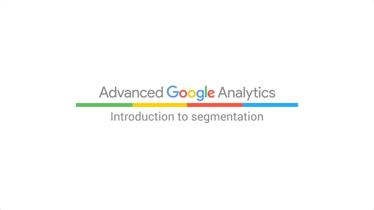 Introduction to segmentation (5:30)