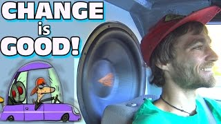 Why Does EXO Have TWO YouTube Channels?? TIME FOR A CHANGE... and a NEW Car Audio BASS Camera!