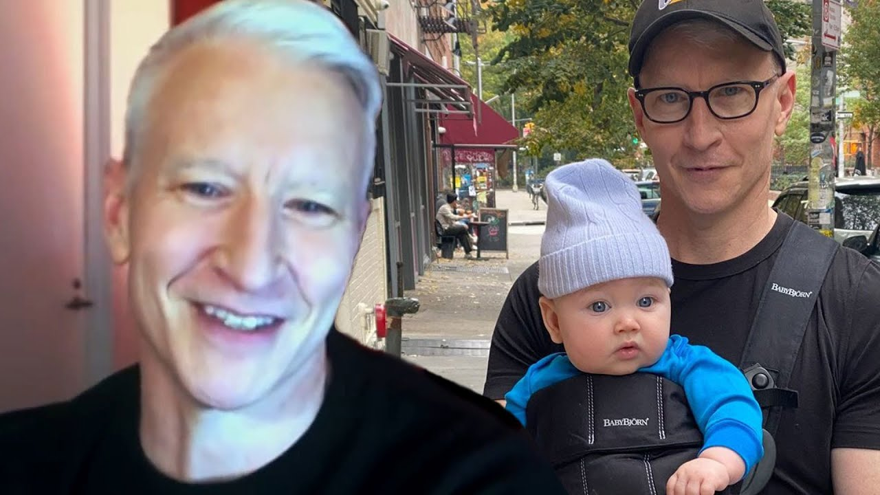 Anderson Cooper Talks Co-Parenting and Living With His Ex-Boyfriend