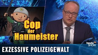 Polizeigewalt & Gewalt gegen Polizisten – beides scheiße