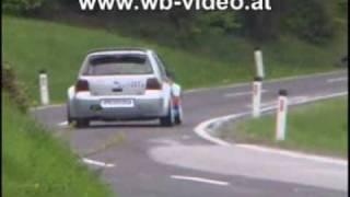 Bergrennen Rechberg 2009 Christian Schweiger VW Golf IV Kit Car