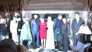 Jack Lowden w/ Saoirse Ronan and cast - Mary Queen of Scots Premiere (Scotland)