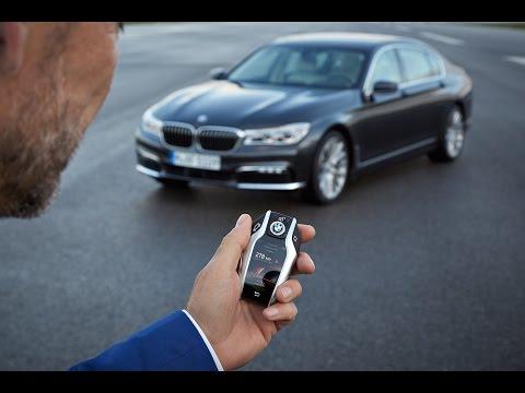 BMW Remote Control Parking - BMW 7 Series