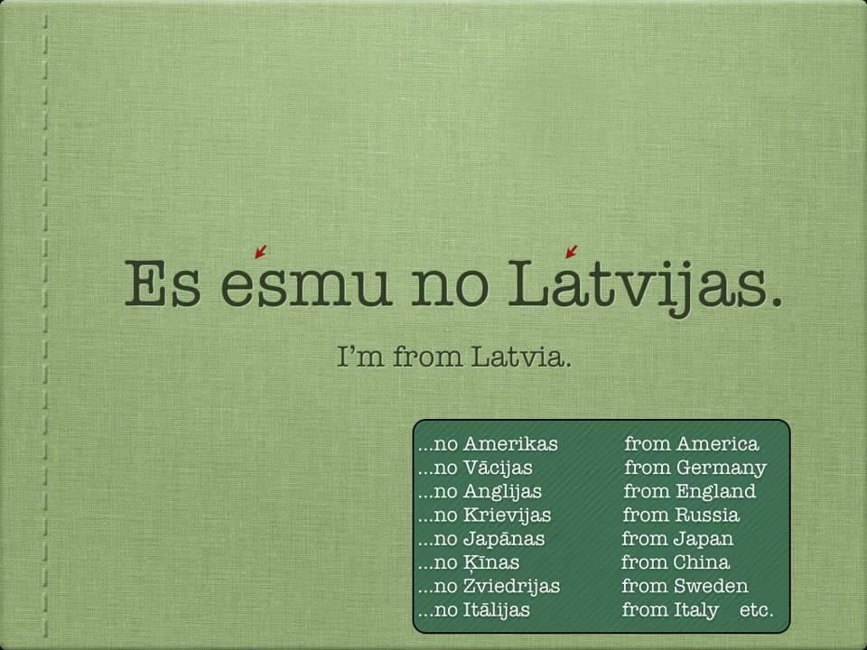 Learn Latvian - History