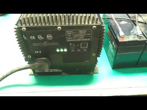 400665 - Genie-Signet Skyjack Battery Charger - HB600-24B - YouTube