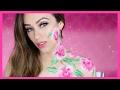 ROSAS: Maquillaje romántico para San Valentín | COLLAB CON LA CLIKA!