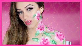 maquillaje-romantico-body-painting-collab-con-la-clika