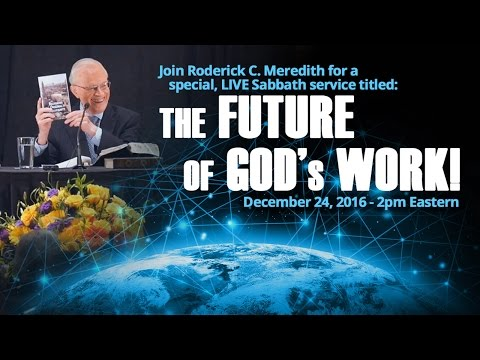 The Future of God's Work