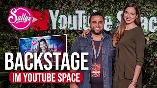 Backstage im YouTube Space / Sallys Welt