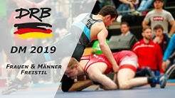 RINGEN DM 19 Frauen & Männer - 53kg Sina Moosmann vs. Sophie Seimetz