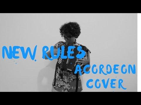 New Rules - Dua Lipa Mulett Accordion Cover