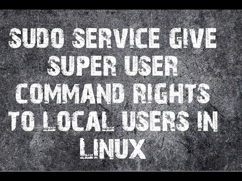How to create sudo users in Redhat Enterprise Linux