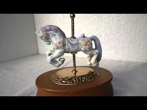 Caballito Musical - Carousel Horse Music Box