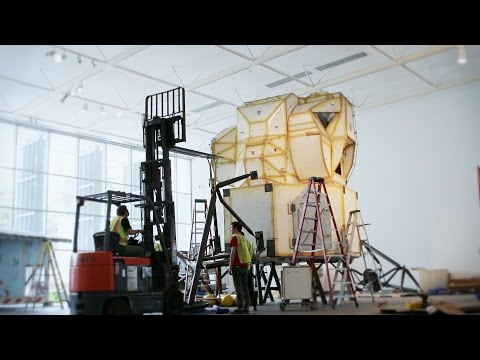 Timelapse: Tom Sachs — Space Program: Europa install