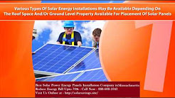 Best Solar Power (Energy Panels) Installation Company in Woburn Massachusetts MA