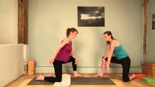 Yoga prénatal et salutation au soleil