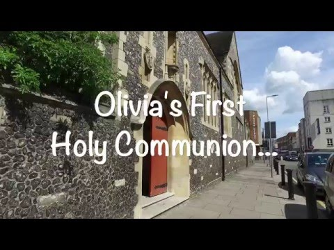 Chantelle's Baptism and Olivia's 1st Holy Communion - 30/04/2016 - music video