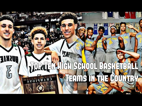 Top 10 High School Basketball Teams in the Country