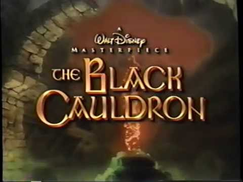 The Black Cauldron (1985) Trailer 3 (VHS Capture)