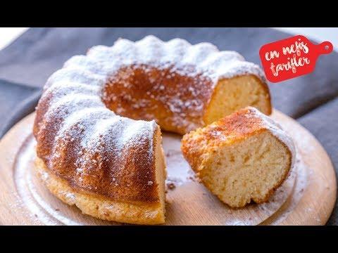 Yumuşacık Krem Şantili Kek Nasıl Yapılır? Krem Şantili Nefis Kek Tarifi (Kolay Kek Tarifi)