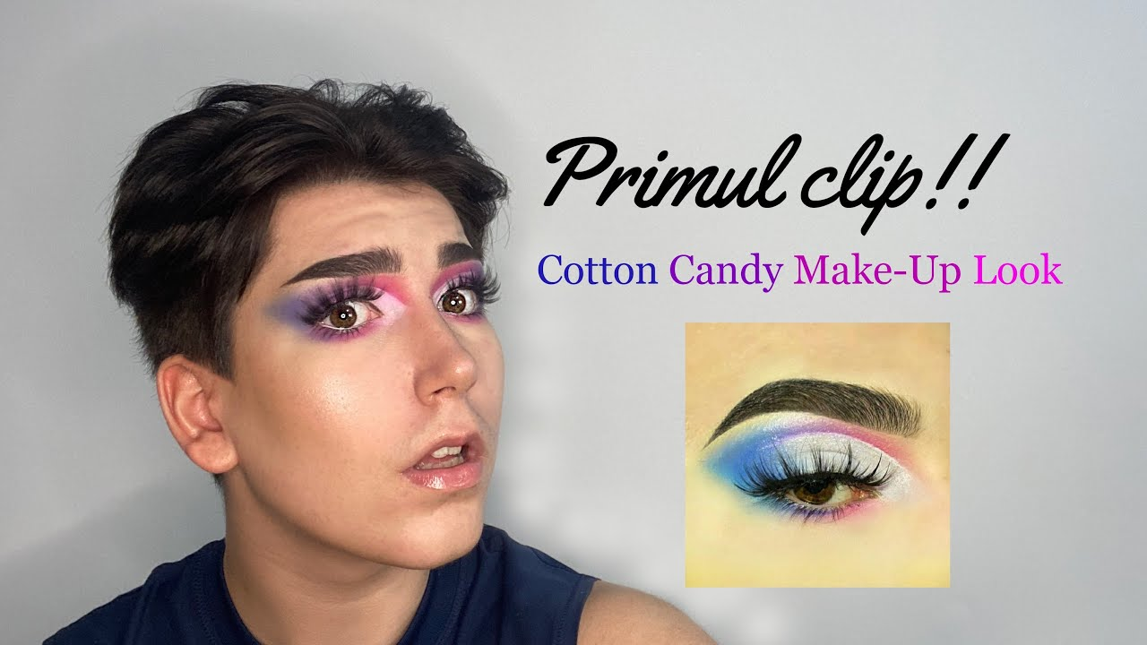 Primul Clip?! Cotton Candy Makeup Tutorial