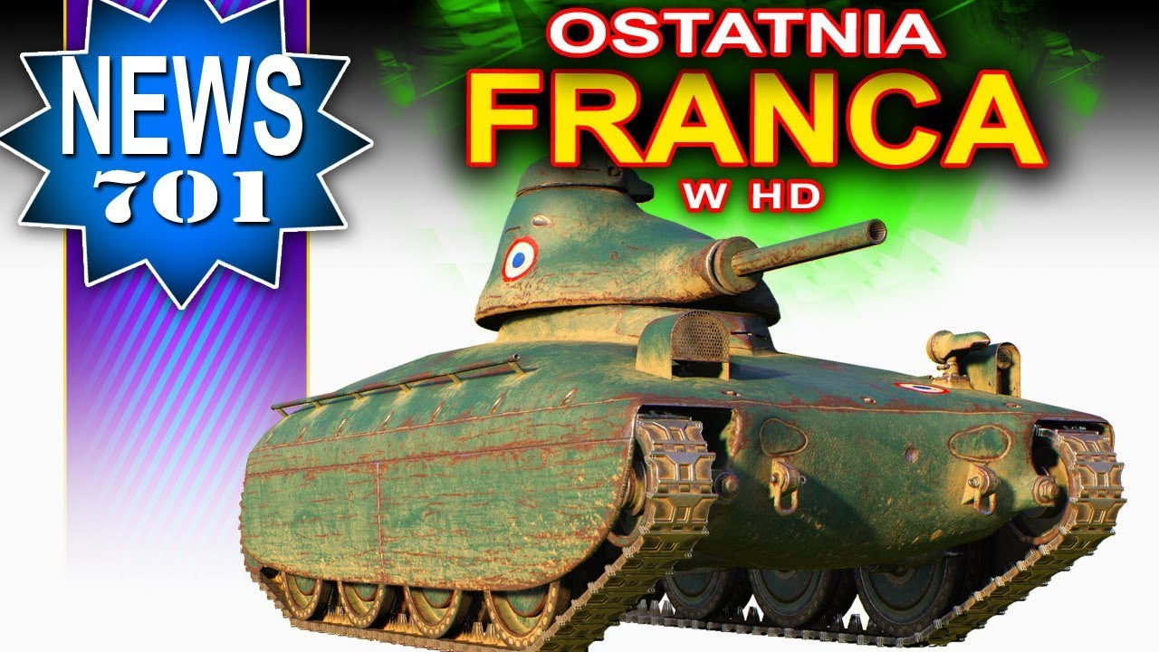 Forfiter! Popatrz jaka franca w hd! – NEWS – World of Tanks