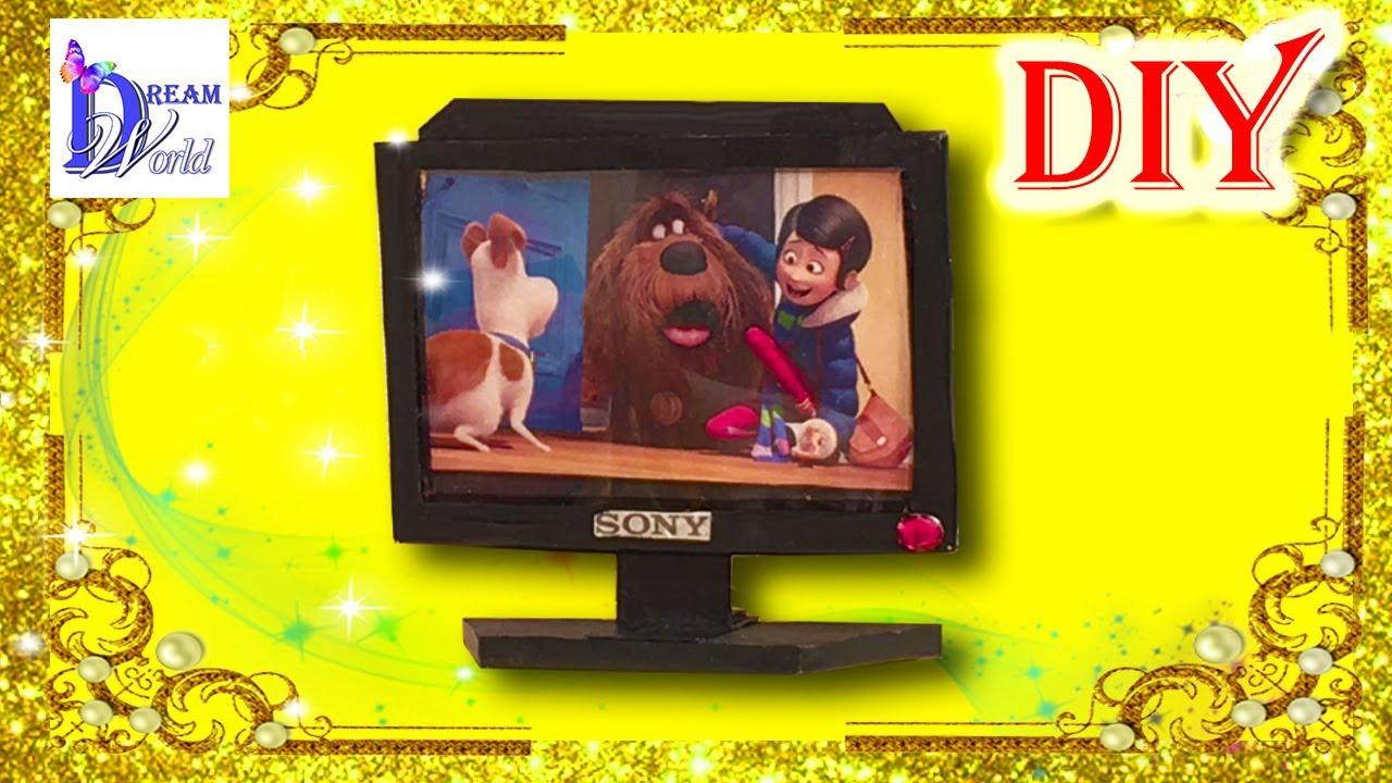 Видео как сделать телевизор для кукол фото 411