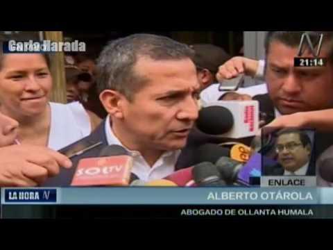 Habla el abogado de Ollanta Humala tras revelarse la entrega de US$3 millones de Odebrecht