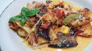 Шикарное Блюдо Паста с Овощами в Духовке Итальянская Кухня