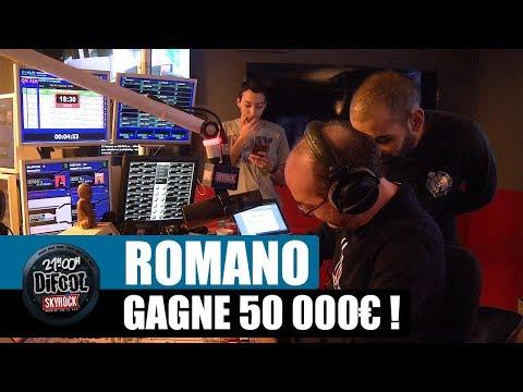 Romano gagne 50 000€ aux jeux à gratter ! #LaRadioLibreDeDifool