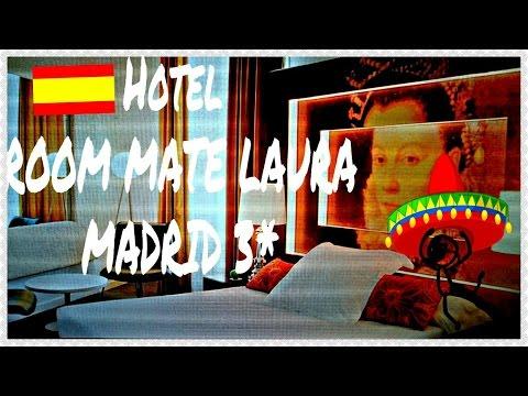Hotel Room Mate Laura 3* Madrid |Отель Испания Мадрид