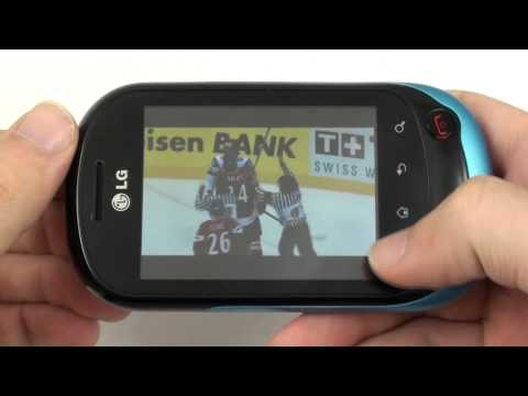 LG Optimus Chat - galerie a video